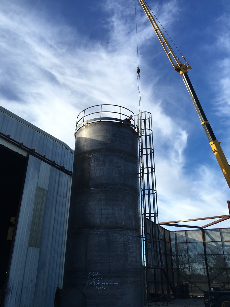 AWWA Water Ground Storage Tank